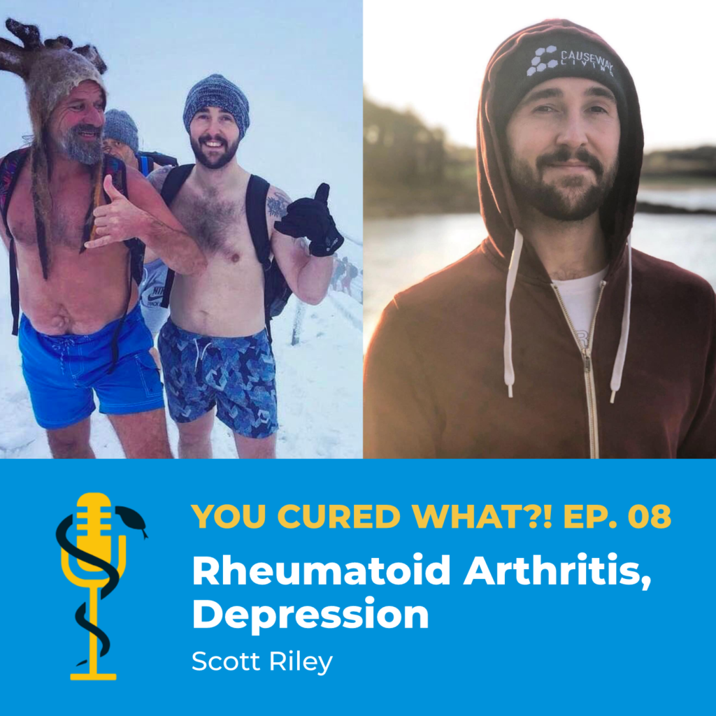 Episode Card: Ep.08: Rheumatoid Arthritis, Depression with Scott Riley