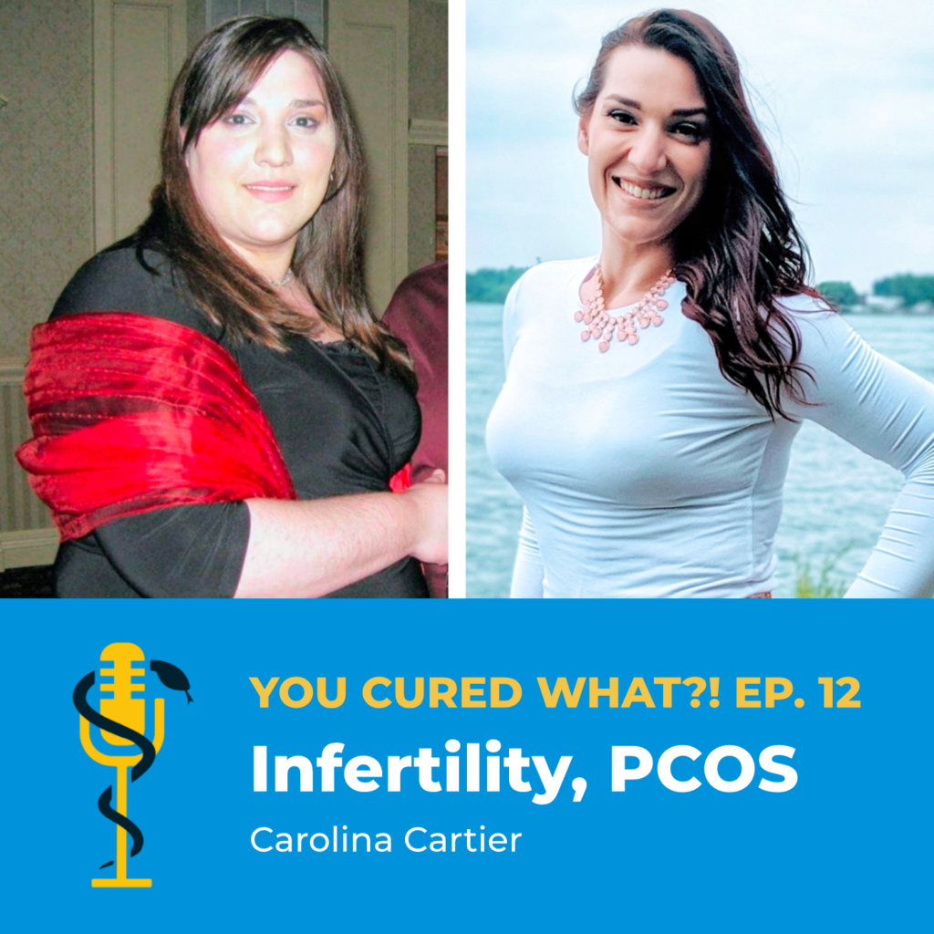 Episode Card: Ep.12: Infertility, PCOS with Carolina Cartier