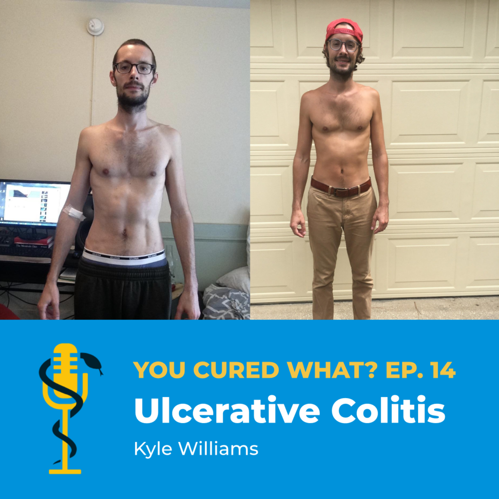 Episode Card: Ep.14: Ulcerative Colitis with Kyle Williams