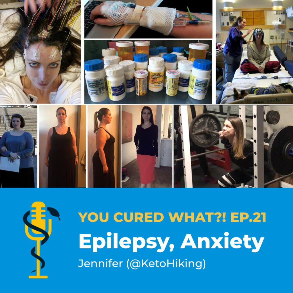 Episode Card: Ep.21: Epilepsy, Anxiety with Jennifer