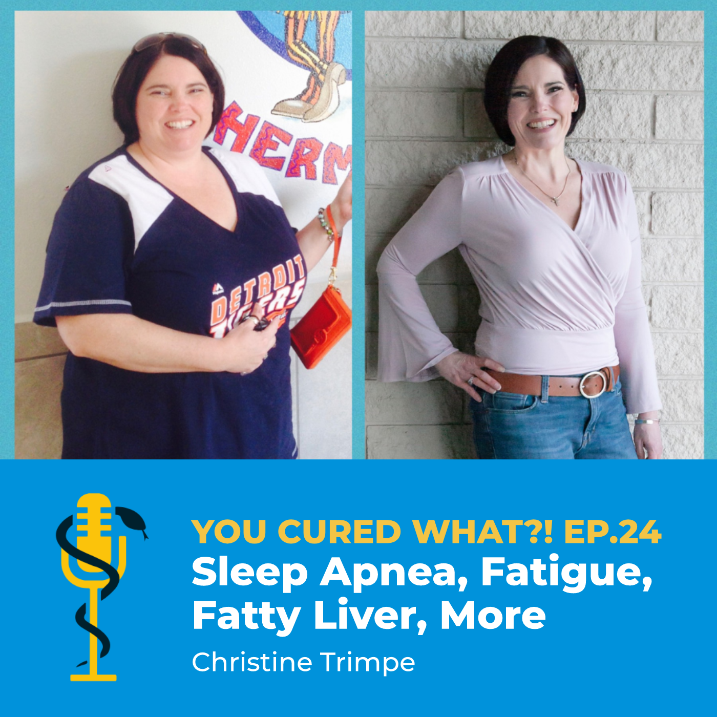 Ep.24: Sleep Apnea, Fatigue, Fatty Liver, More with Christine Trimpe